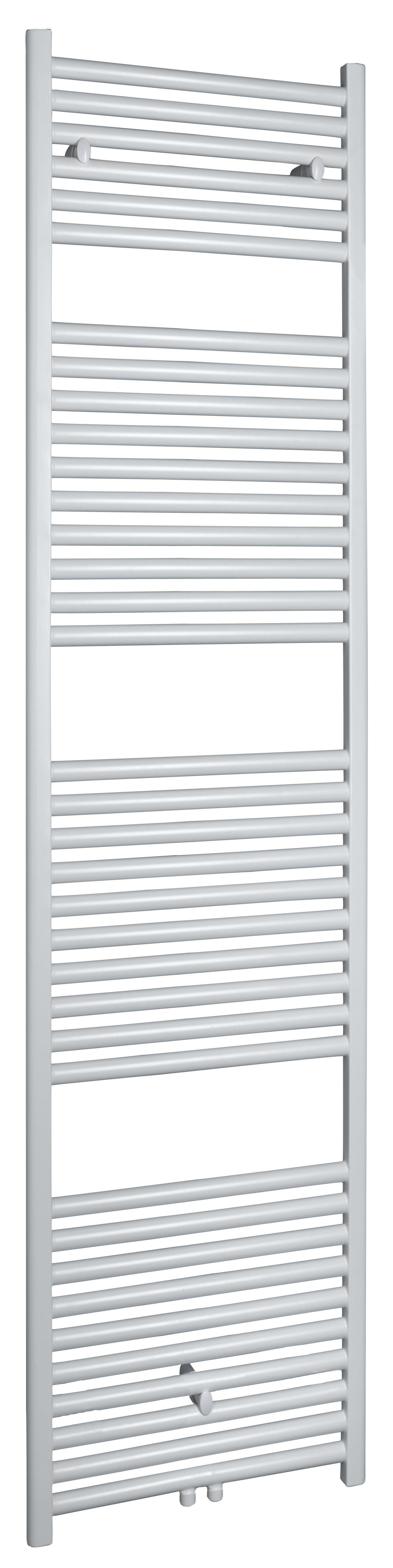 Wiesbaden Elara sierradiator 180x45 cm wit midden/onderaansluiting