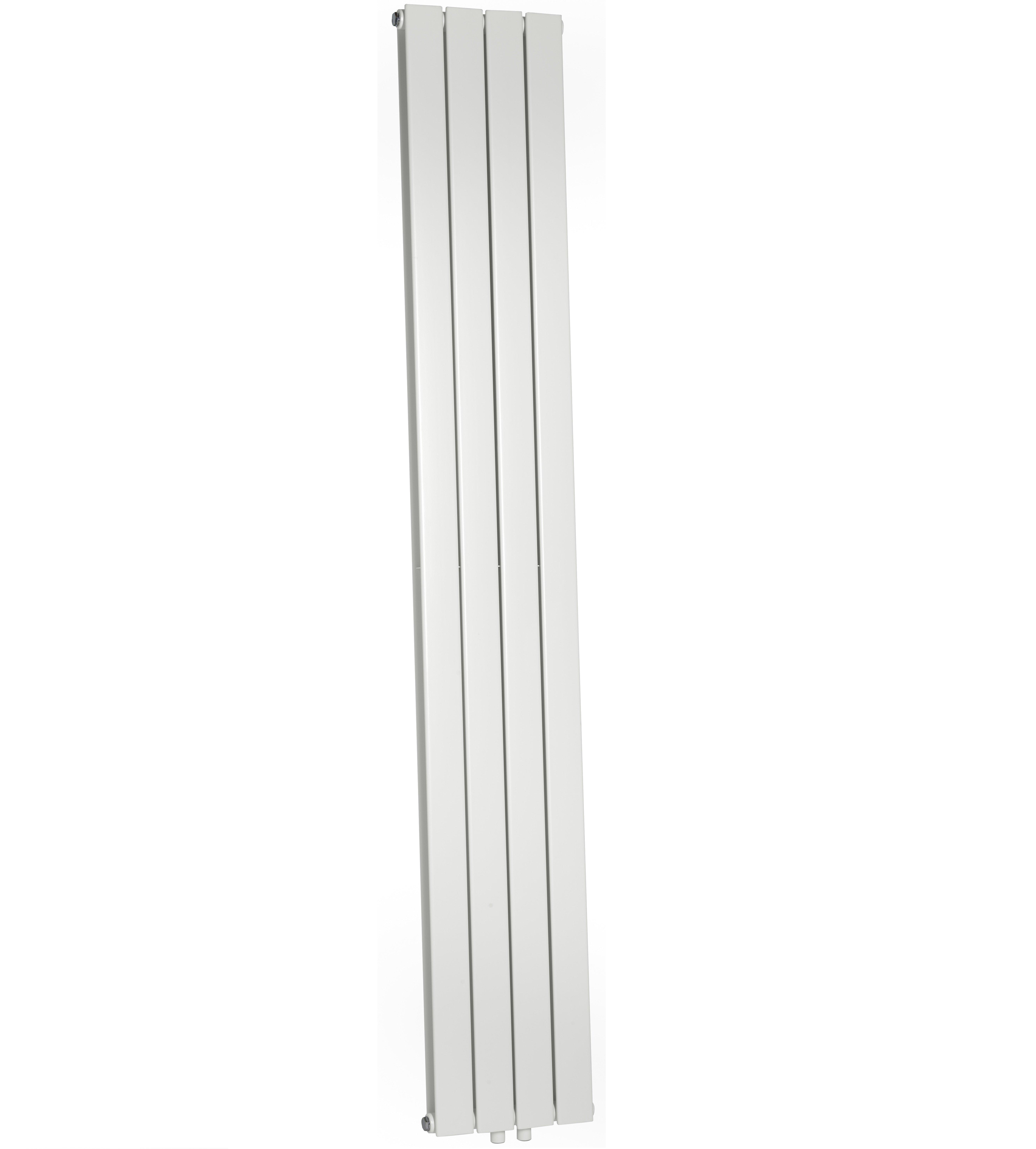 Wiesbaden Millennium sierradiator dubbel 200x30 cm wit midden/onderaansluiting