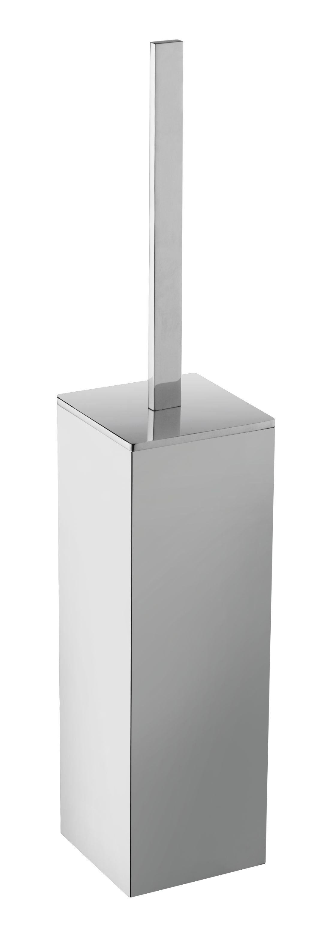 Wiesbaden Eris vrijstaande toiletborstelhouder chroom
