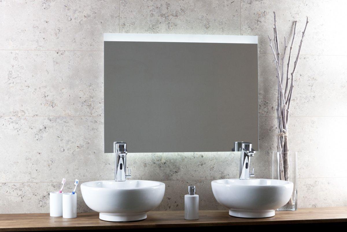 Neuer Charge LED spiegel met verwarming 80x90