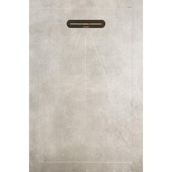 VTwonen Mold douchetegel 90x135 Concrete