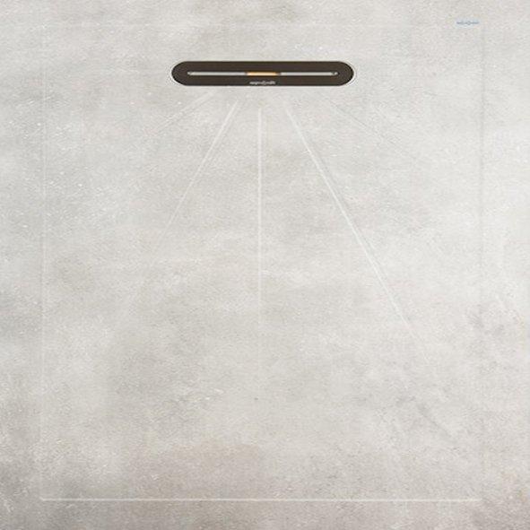 VTwonen Mold douchetegel 90x90 Cement