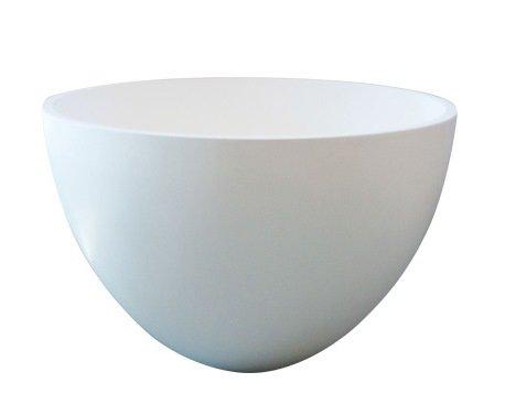 Best design Just Solid opbouw waskom Eco 54cm glanzend wit