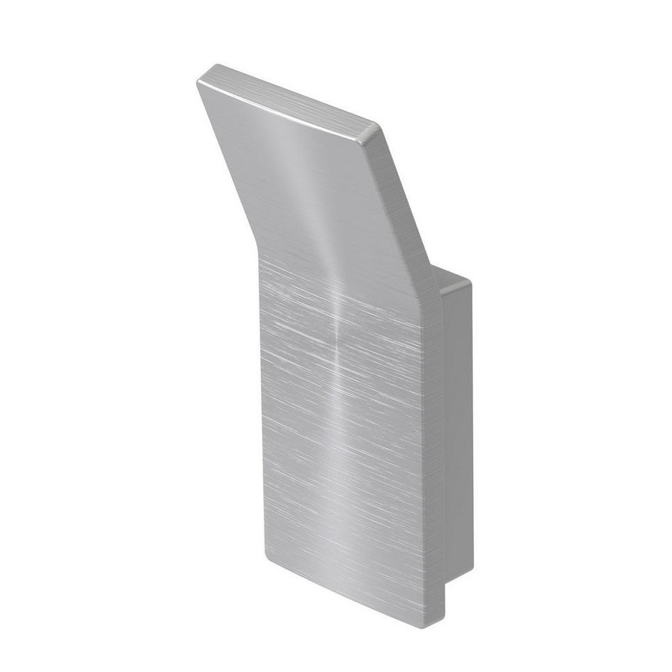Haceka Aline handdoekhaak geborsteld aluminium