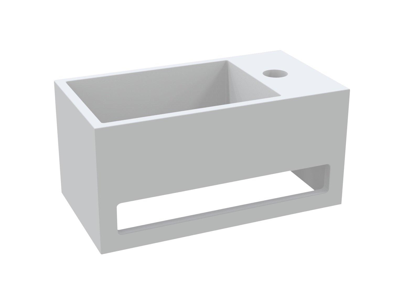 Best Design Just-Solid Fontein incl.Handdoekhouder MONA-RECHTS