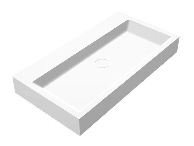 Best Design Just-Solid Wastafel Opera-80