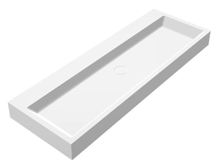 Best Design Opera 120 Just-Solid Wastafel 120x50cm