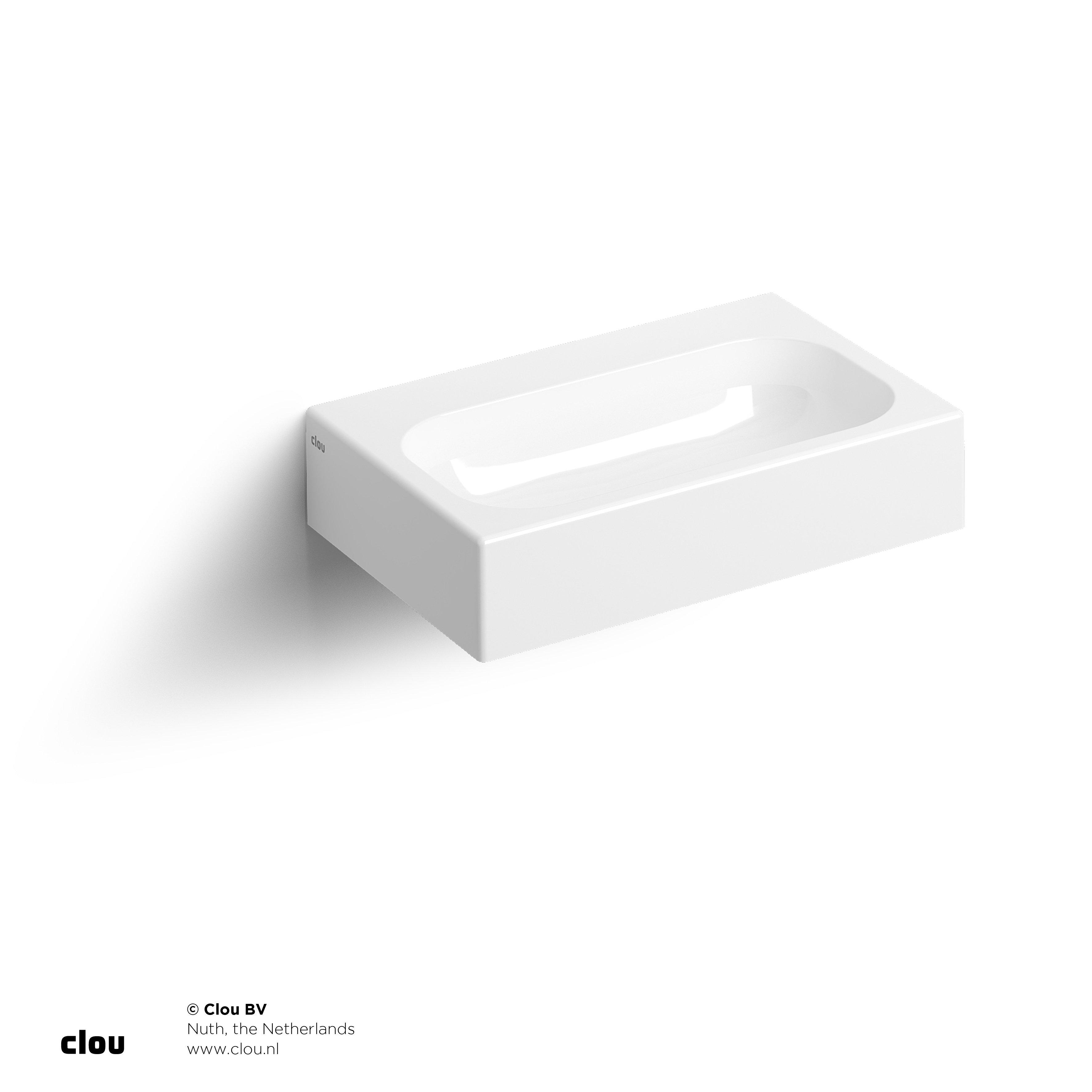 Clou Mini Match Me fontein, met voorbewerkt kraangat, min. marmer