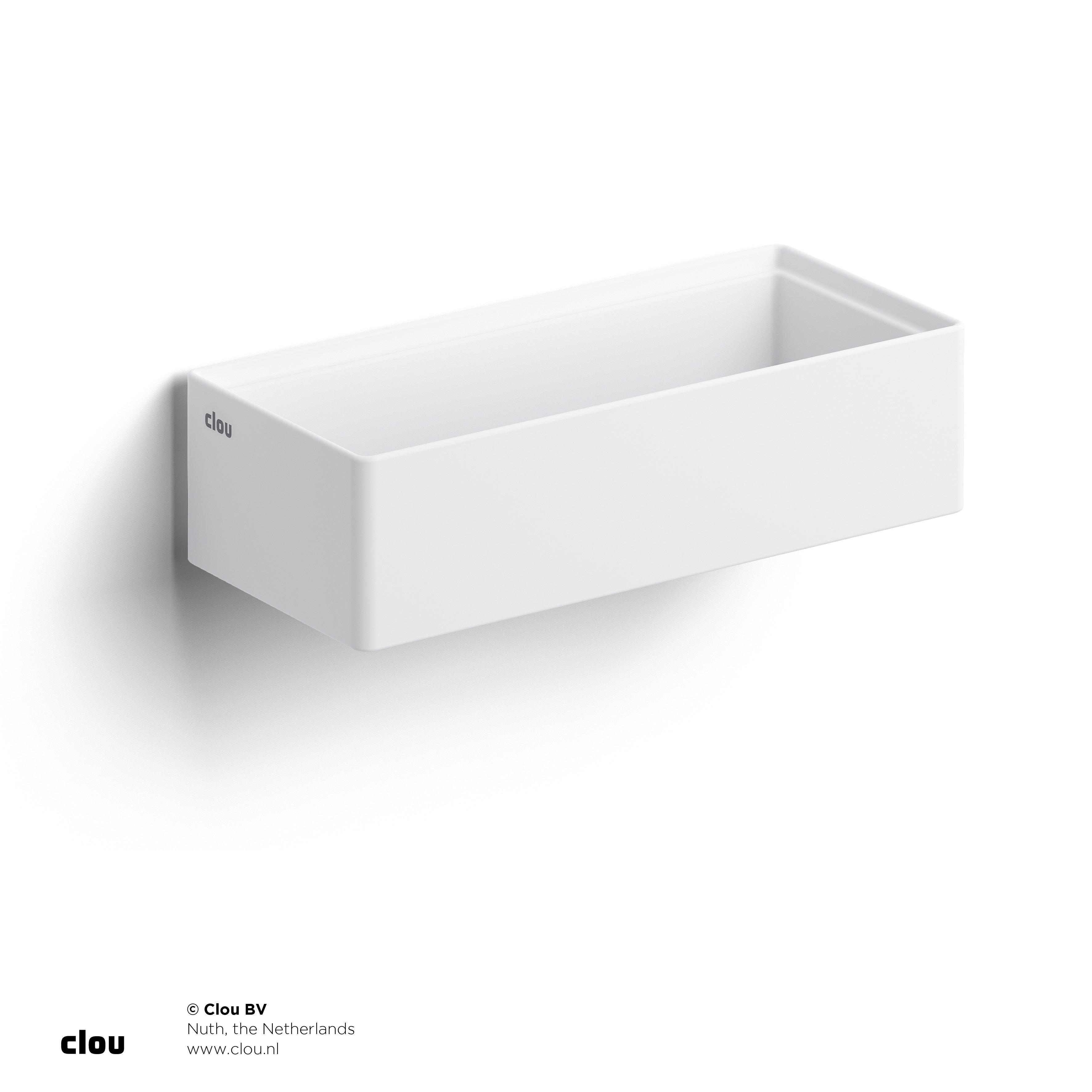 Clou New Flush 3.1 fontein zonder kranenbank, aluite