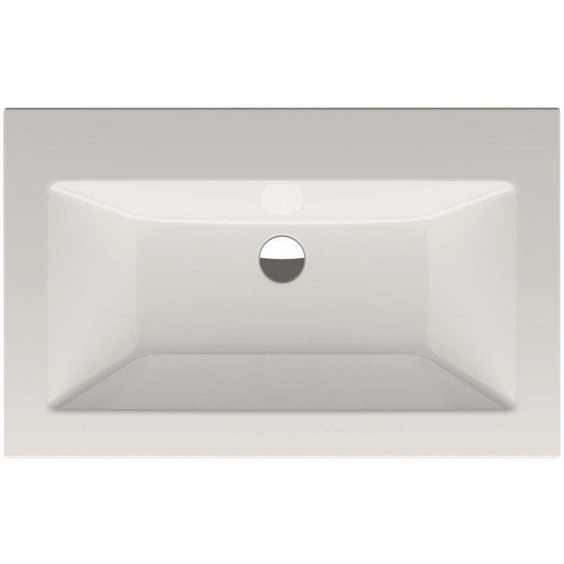 Bette Loft inbouw wastafel zonder kraangat 80x49.5cm wit