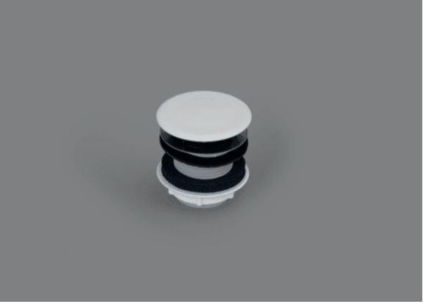 Bette wastafelplug PVC 46mm niet afsluitbaar wit