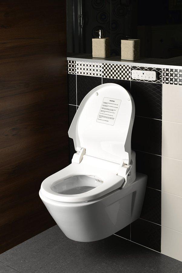 Sapho Inus Lux elektronischebidet en toiletbril met afstandbediening