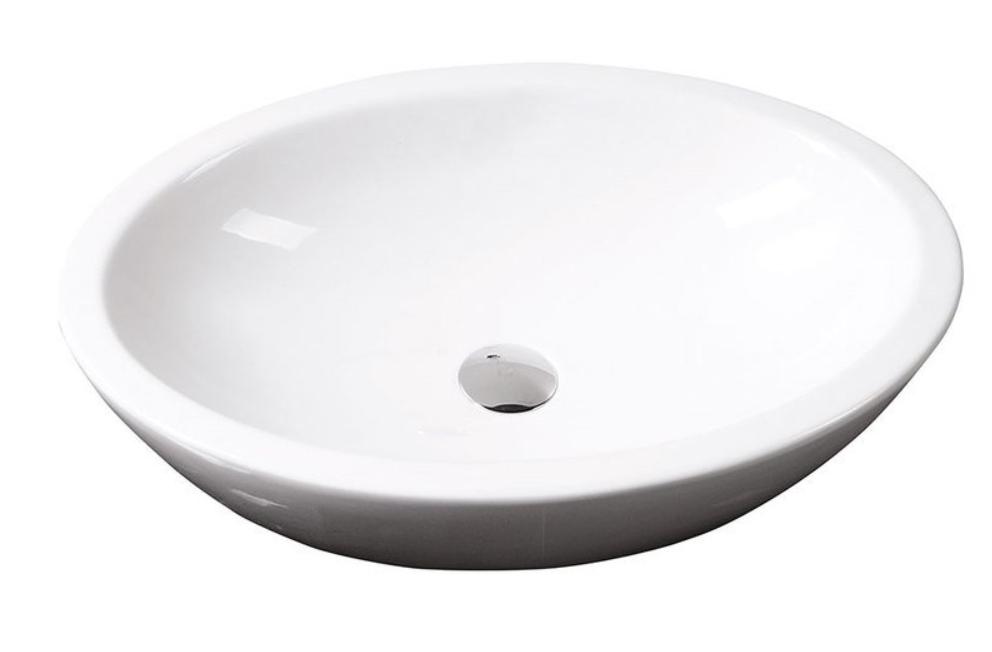 Isvea Sistema keramisch wit waskom 42x60 cm
