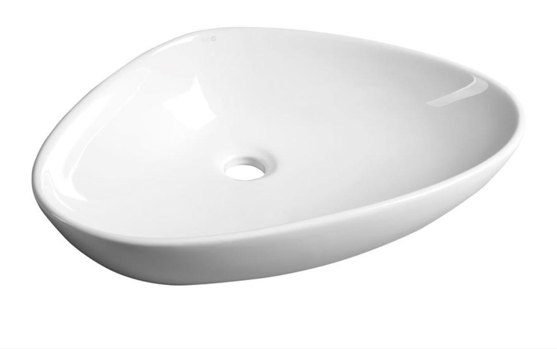 Sapho Teruel opbouw waskom 39x58.5 cm wit