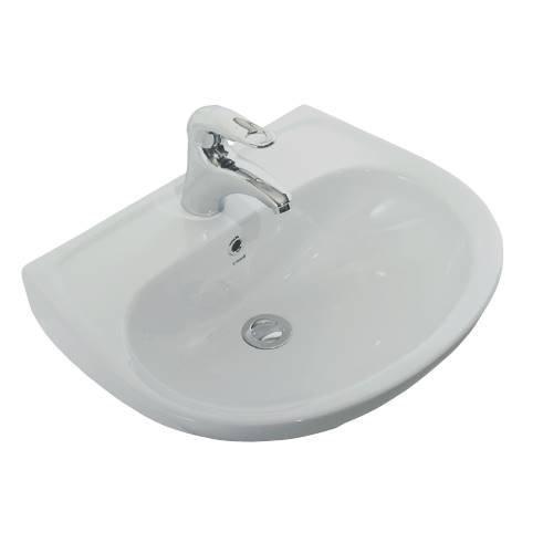 Creavit Aloni keramische fontein 60x45 cm wit
