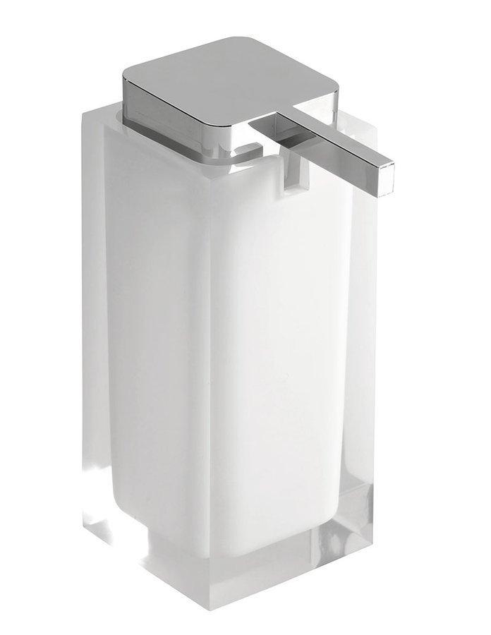 RAINBOW Vrijstaande zeepdispenser, wit
