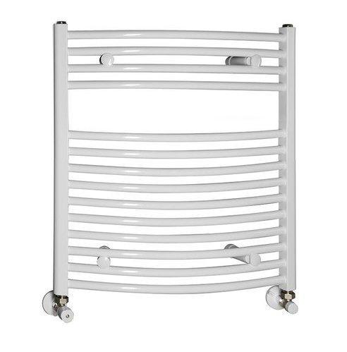 Handdoekradiator 50x65 cm, 319W, wit
