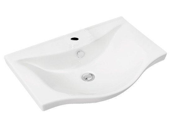 ZARA Wastafel voor badkamermeubel 64,5x46cm