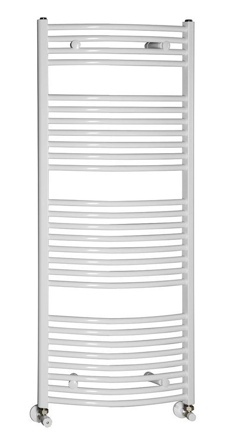 Handdoekradiator 45x135 cm, 545W, wit