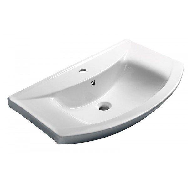 ZERO Wastafel voor badkamermeubel 75x48,5cm