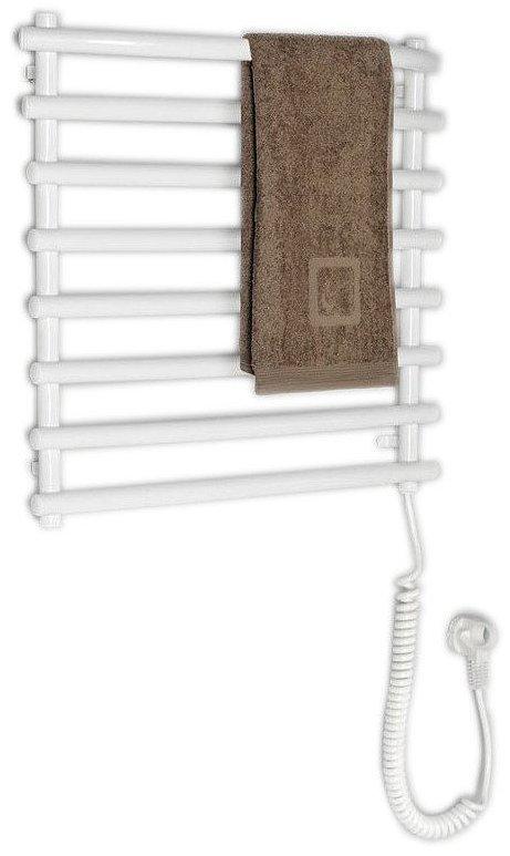 Aqualine Elektrische Handdoekradiator, 57 x 46.5 cm, 72 W, wit