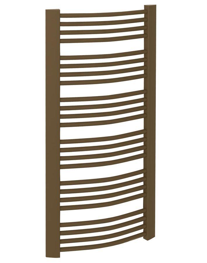 EGEON Handdoekradiator 60x175 cm, 1057W, brons