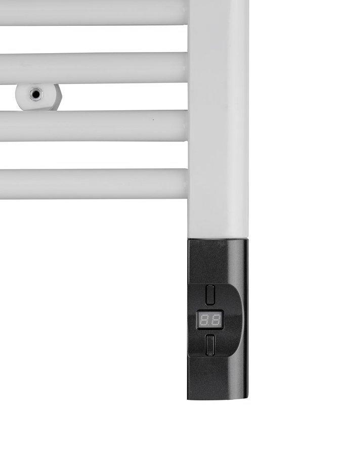 Elektrisch radiator element met thermostaat en afstandsbediening 300W antraciet
