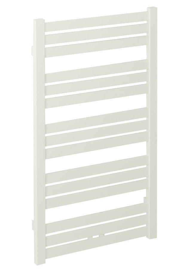 NEVEL Handdoekradiator 55x160 cm, 621W, middenaansluiting, wit