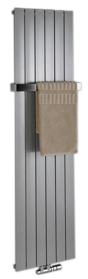 Sapho Colonna handdoekradiator 60x180 cm zilver 1205W