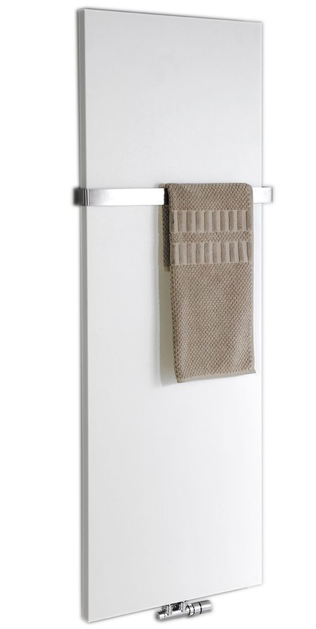 MAGNIFICA Handdoekradiator badkamer 45x120 cm, getextureerd/wit