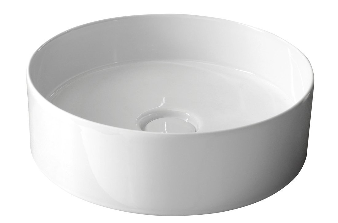 STORM CIRCLE Waskom diameter 40,5cm incl. keramische wastafelafvoer