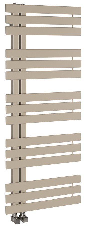 SILVANA Handdoekradiator 50x125 cm, Mocca metallic