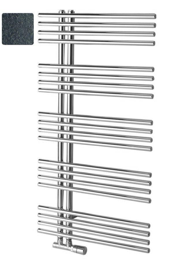 NYMPHA Badkamerradiator 60x110 cm, antraciet metallic