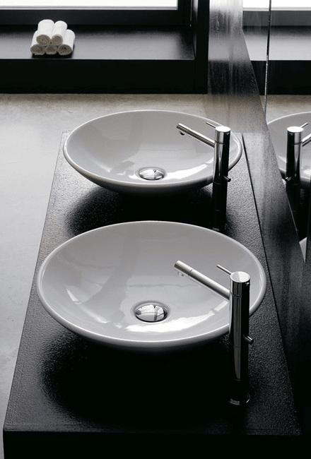 Novara Legato opzetwaskom rond keramiek 45x46x10,8