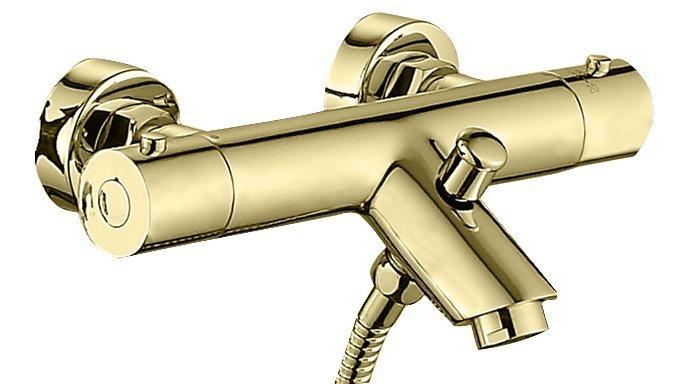 Best Design Nancy opbouw bad thermostaat mat goud
