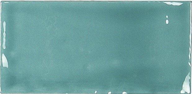 Carmen Memories Liso rechthoek tegel 6,5X13 Acqua