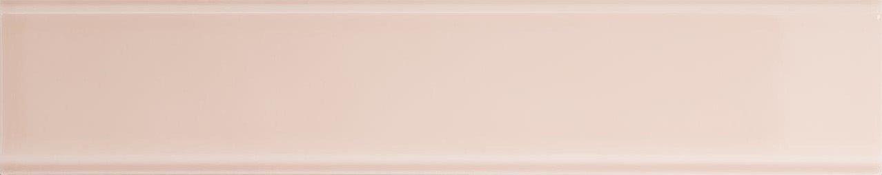 Quintessenza TINTE rechthoekige tegel 5x25 Rosa Lucido
