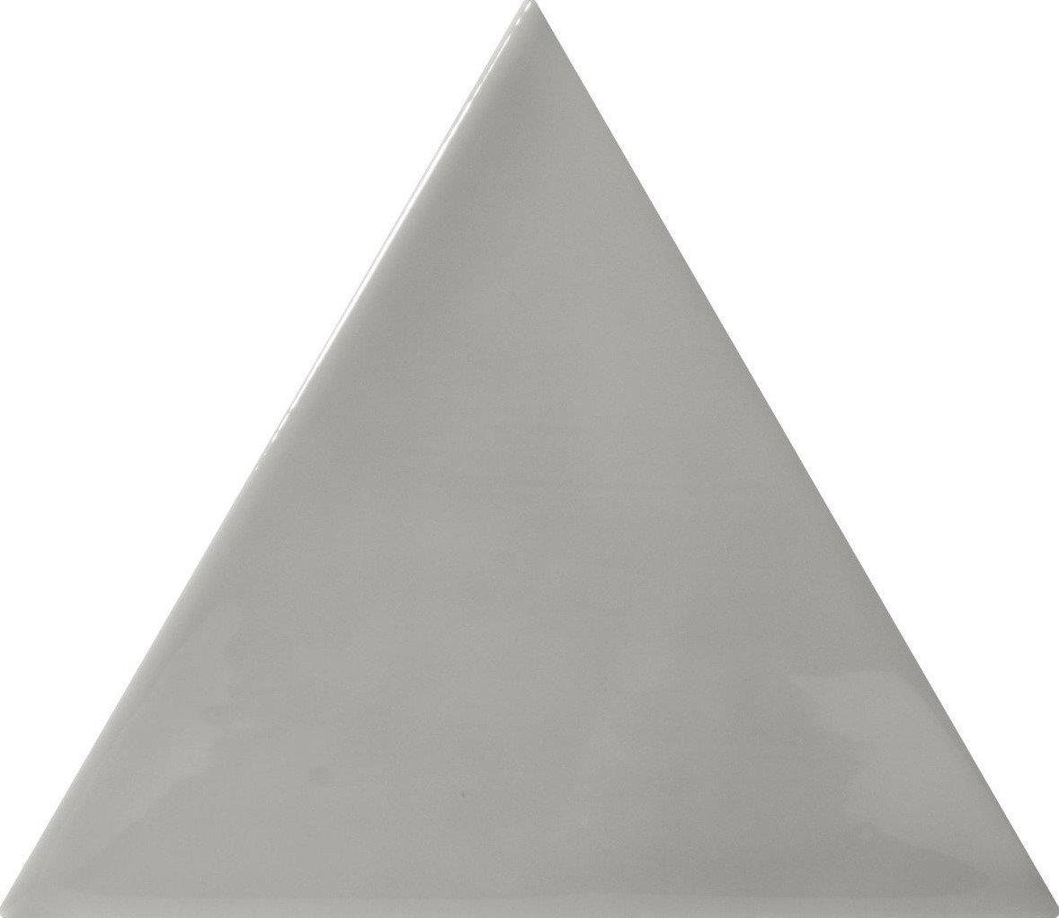 Quintessenza 3LATI driehoek tegel 13,2x11,4 Grigio Scuro Lucido