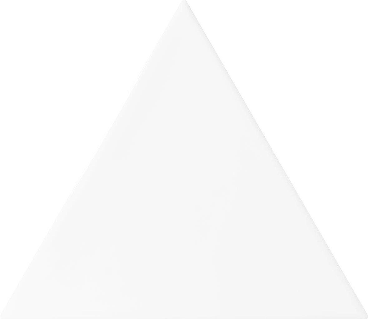 Quintessenza 3LATI driehoek tegel 13,2x11,4 Bianco Lucido