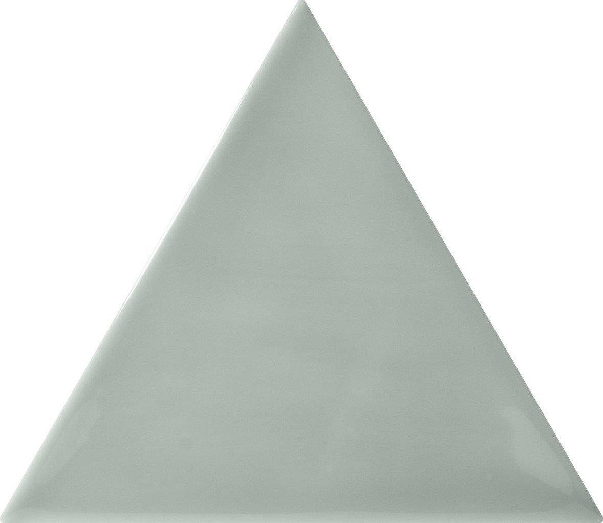 Quintessenza 3LATI driehoek tegel 13,2x11,4 Acquamarina Lucido