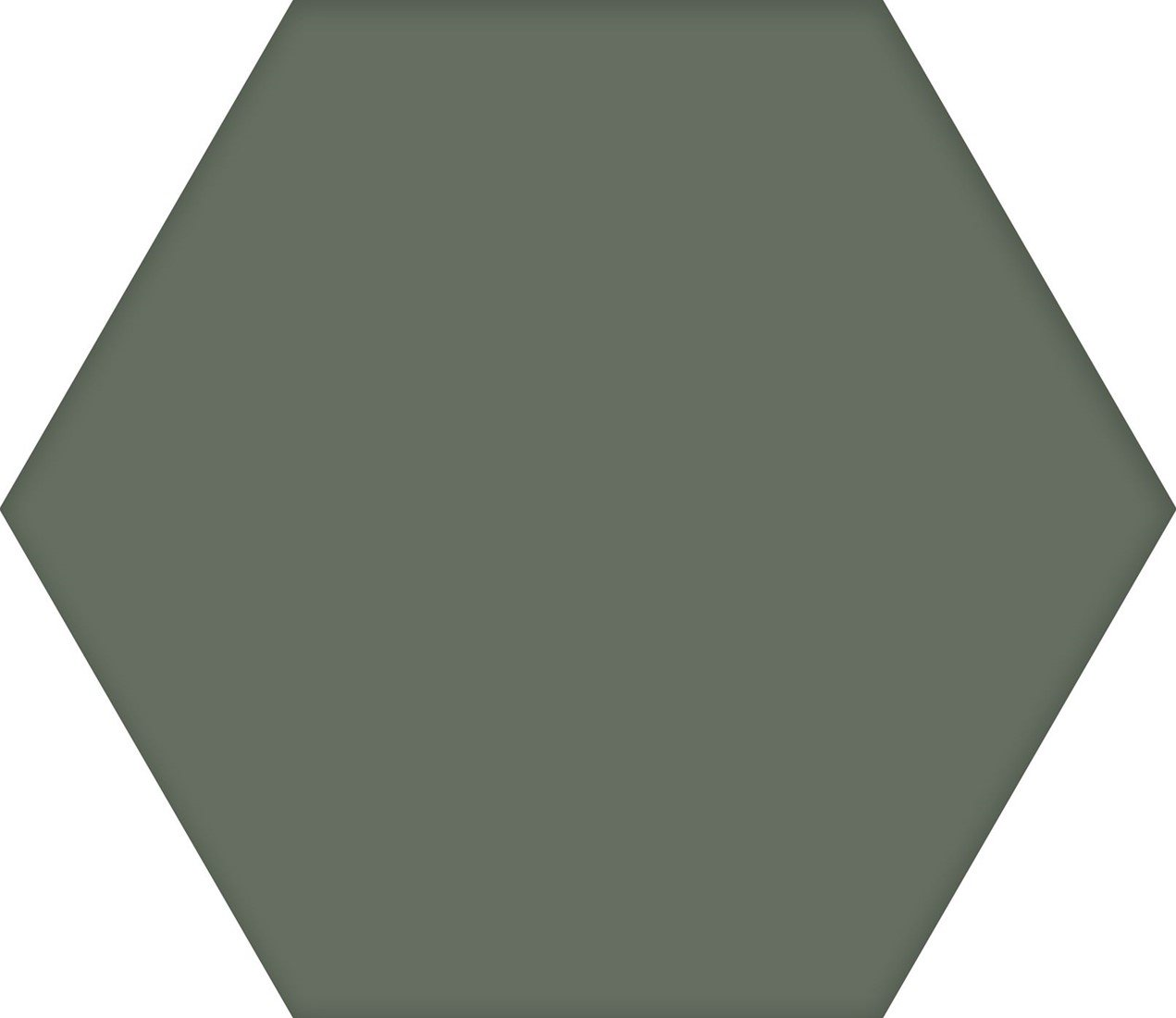 Codicer Hex25 Basic hexagon vloertegel 25x22 Moss
