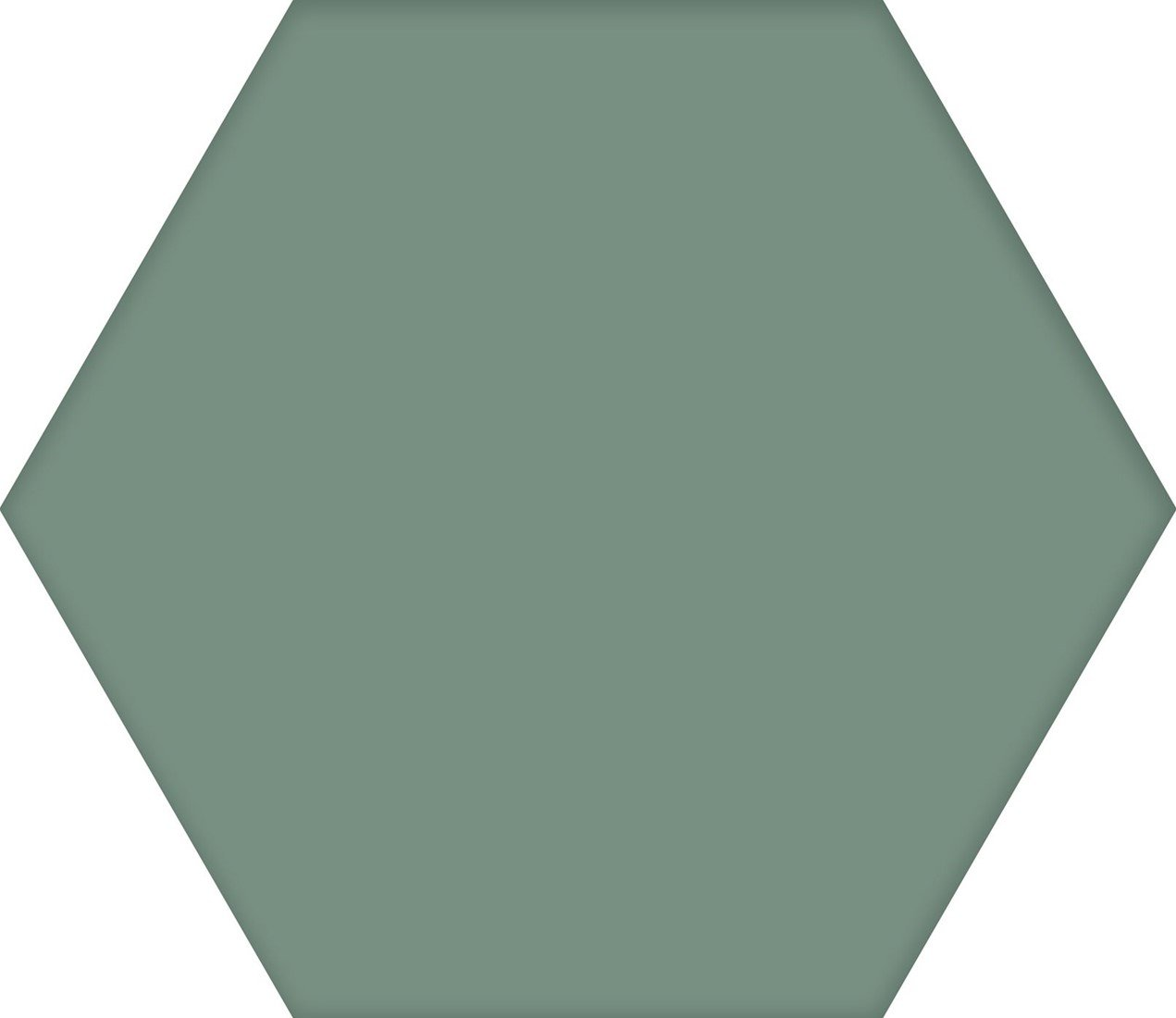 Codicer Hex25 Basic hexagon vloertegel 25x22 Kale