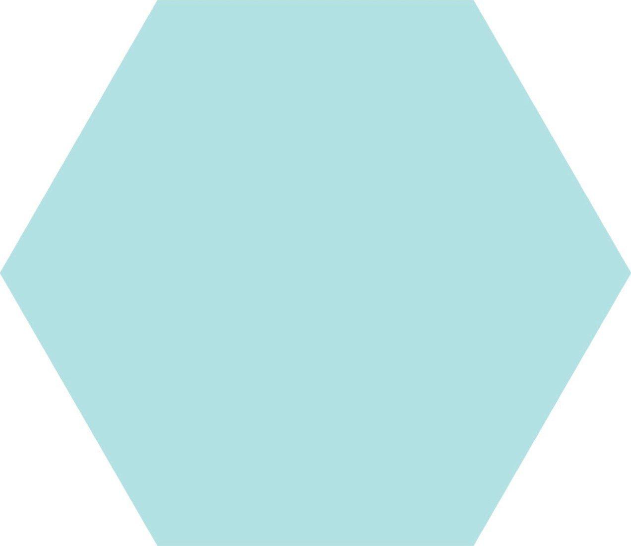 Codicer Hex25 Basic hexagon vloertegel 25x22 Aqua