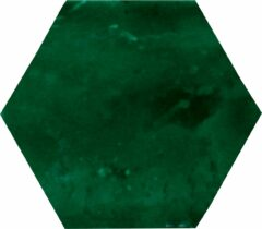 Alcoceram hexagon tegel Manual Exagono 10X11,5 Verde Cobre