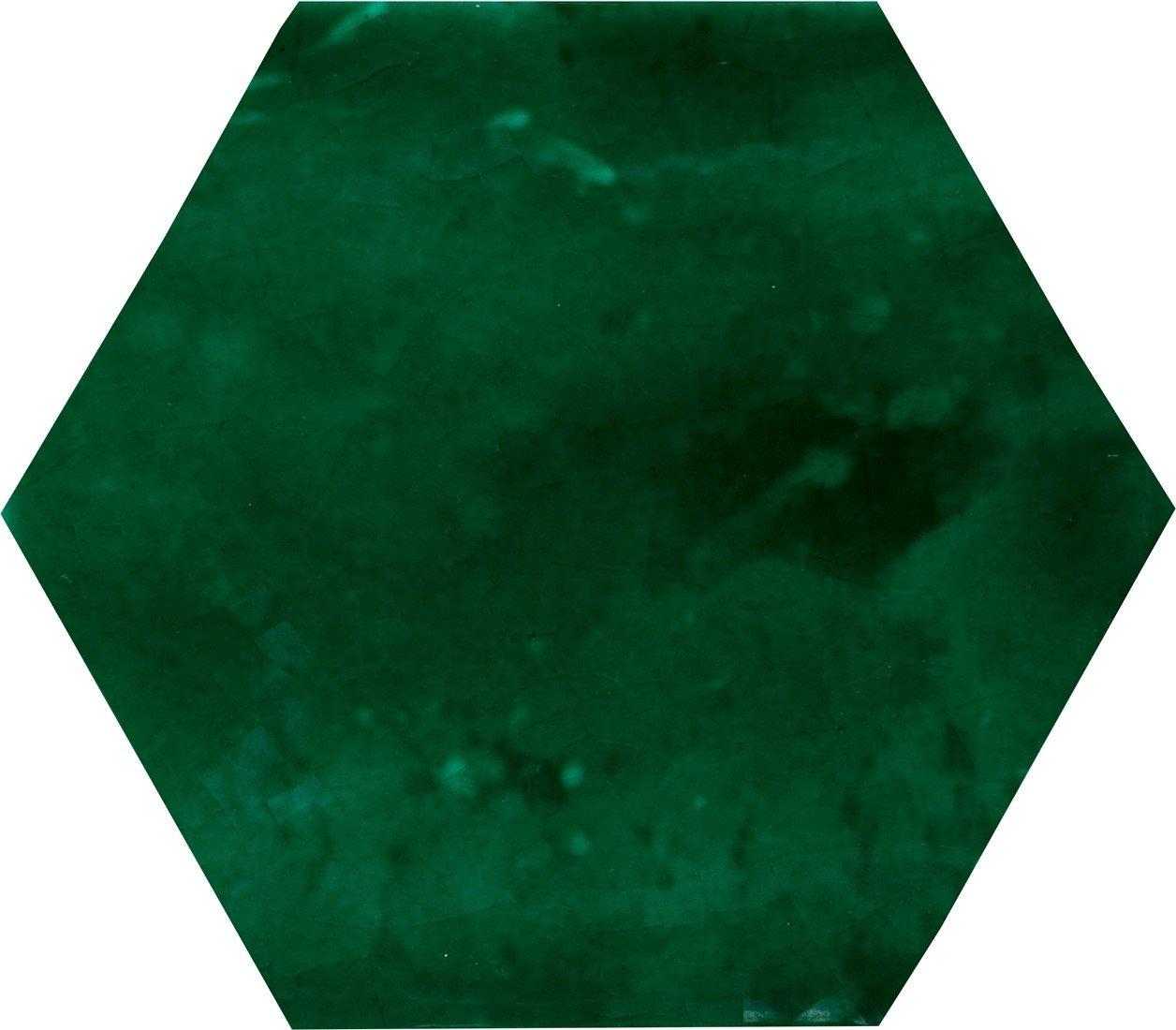 Alcoceram hexagon tegel Manual Exagono 10X11,5 Verde Cobre