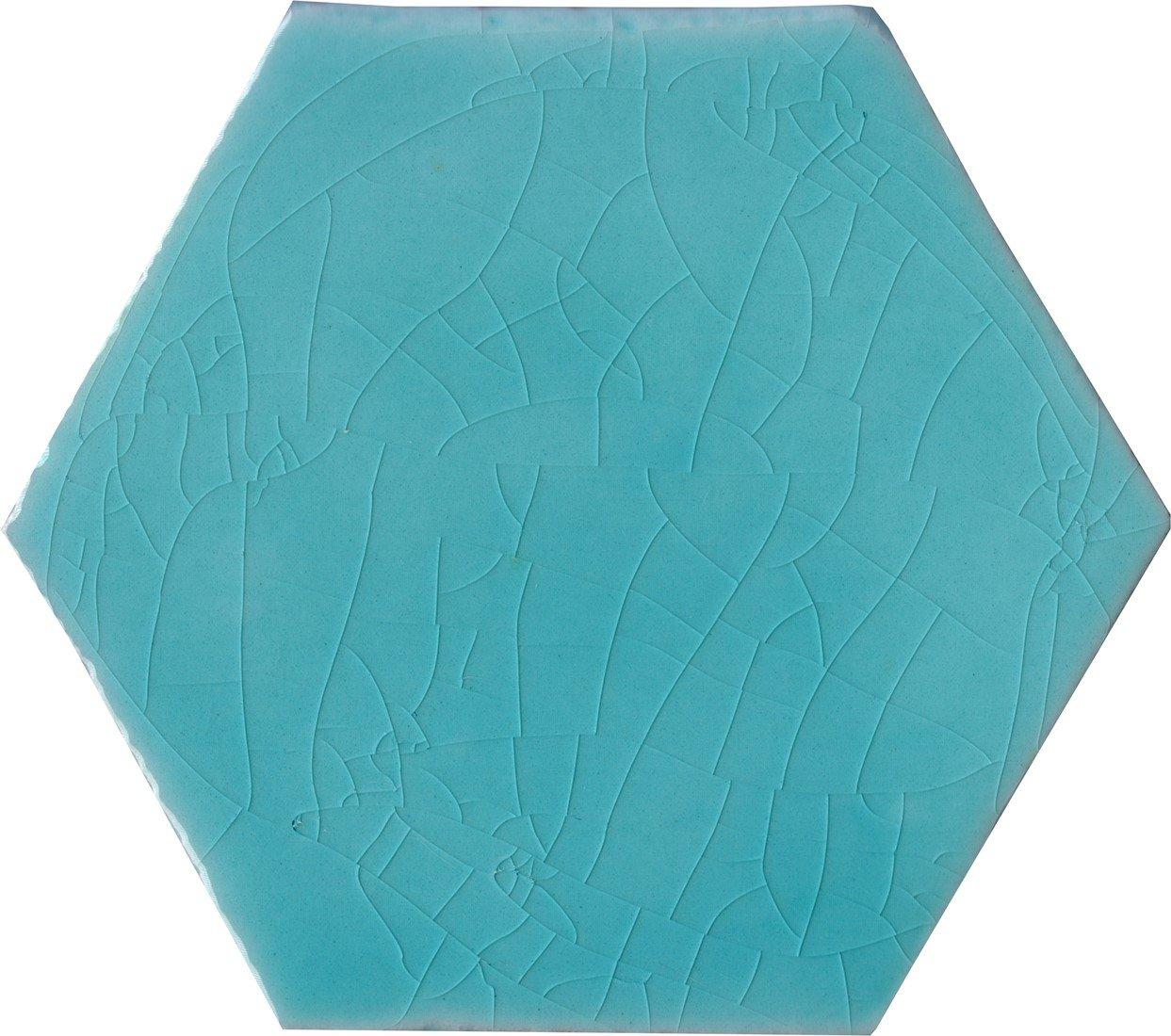 Alcoceram hexagon tegel Manual Exagono 10X11,5 Verde Mar