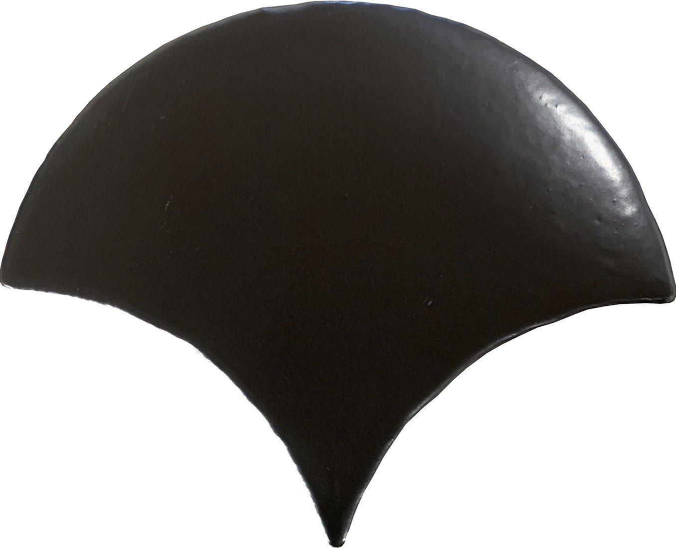 Alcoceram schubben tegel Manual Escama 11,5X10 Negro Mate