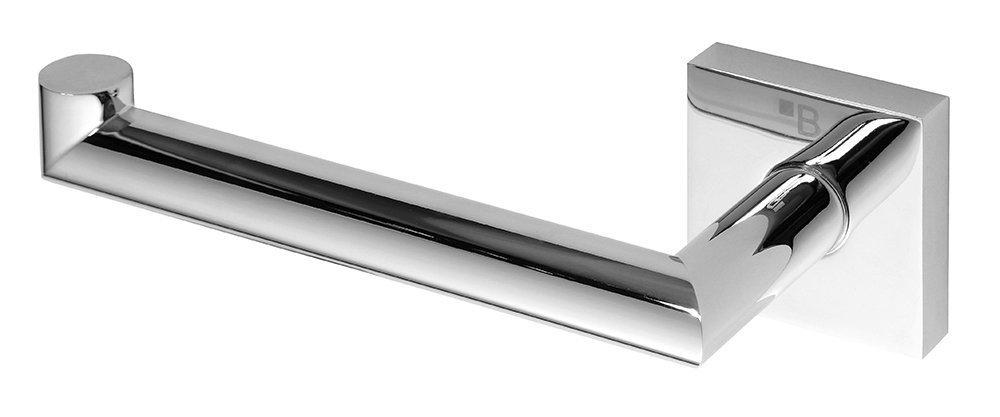 Sapho X-Square toiletrolhouder chroom zonder klep links