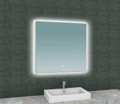 Wiesbaden Soul spiegel met led verlichting 80x80 cm