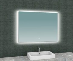 Wiesbaden Soul spiegel met led verlichting 100x80 cm